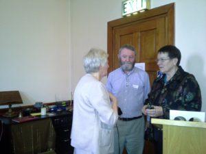 Nellie, Martin Kennedy and Ann Mathews